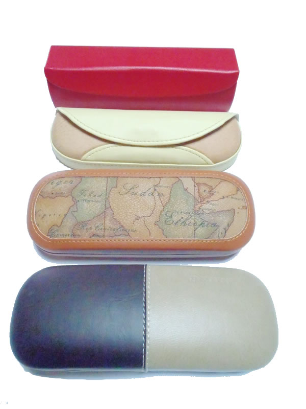 Eyeglass Cases in various forms and colors
