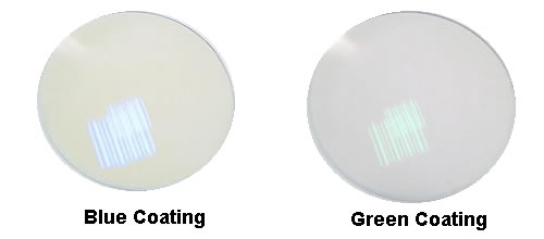 Anti-reflective Coating Blue and Green