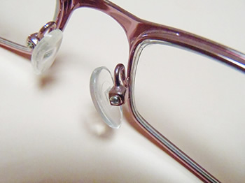 Eyeglass Frame Tester : NOSE PIECES FOR EYE GLASSES - EYEGLASSES