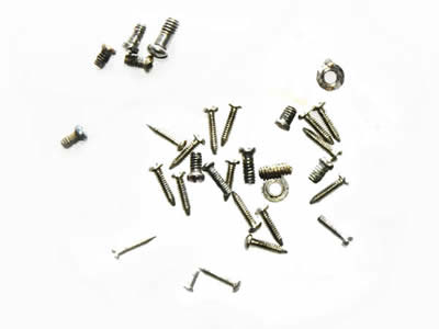 Glasses screw replacement