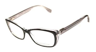 Fendi Eyeglasses Black Crystal