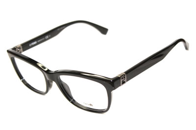 Fendi Eyewear Shiny Black