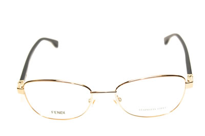 Fendi Eyeglasses Gold/Black