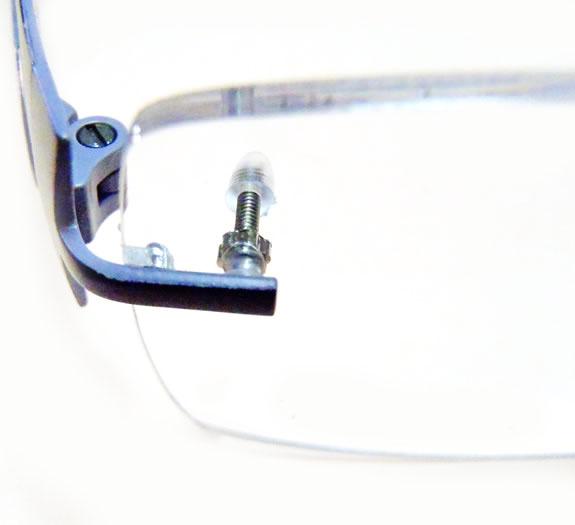 Frameless Eyeglasses Temples