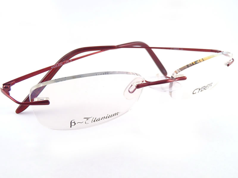 Eyeglass Frames On Your Picture : Rimless Eyeglass Frames