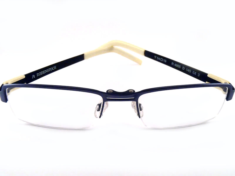 Semi-rimless Eyeglass Frame