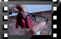 Cleaning Eyeglasses Video