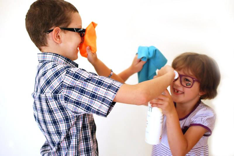 Eyeglass Lens Cleaner
